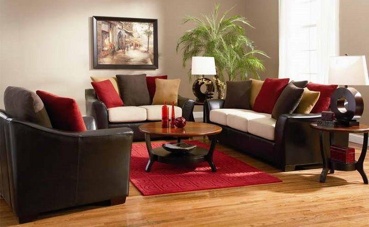 Como Decorar Mi Sala Con Muebles Marrones
