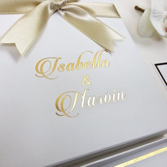 Luxury Gorgeus Wedding Stationary Boxed Real Gold Foil