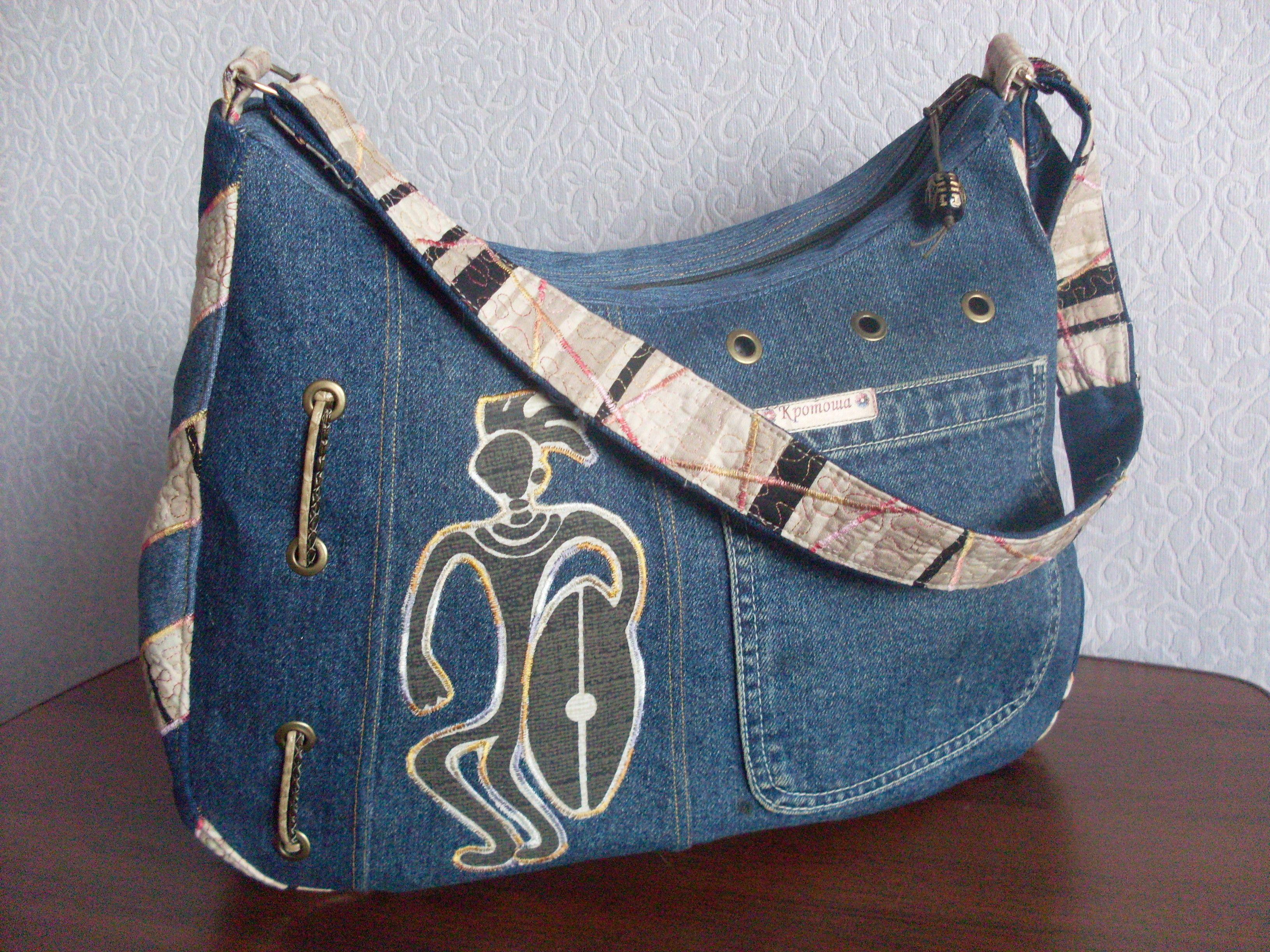 его сумки женские из джинса выкройка фото доступен