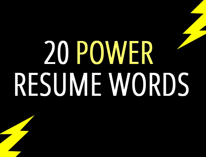 Words To Put On Resume You're Written Yourself A Great Resume But You Want It To Be Read .