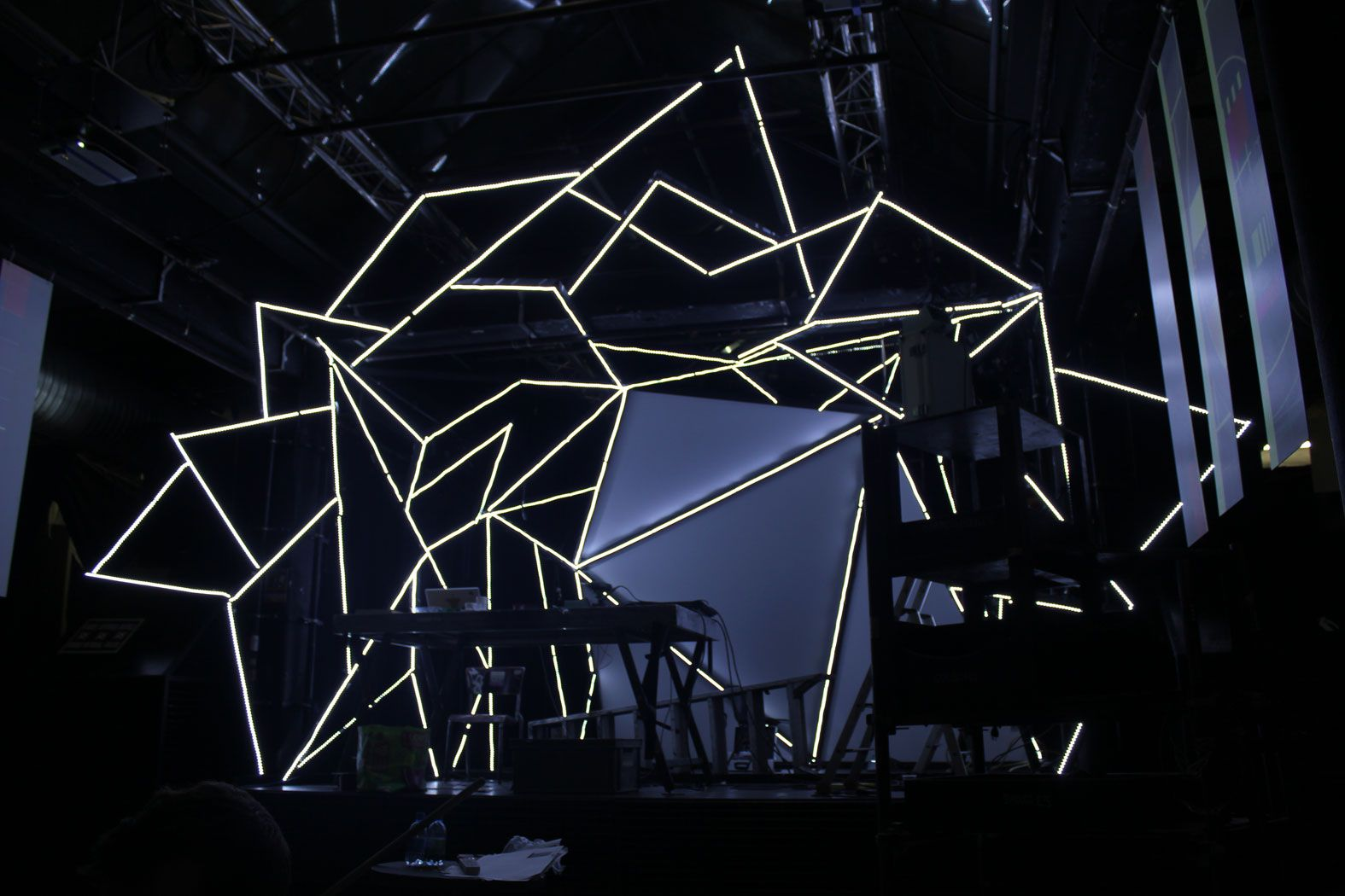 Controlling Led Strips from Madmapper | Art, Installation ... for Led Light Installation Art  588gtk