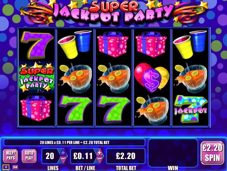 Free jackpot party slot machine video slot machine for free