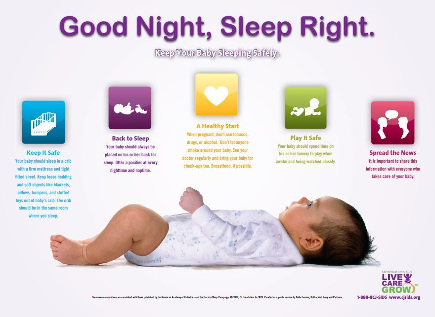 Safe sleep for babies: 5 trusted sites for info on SIDS ...