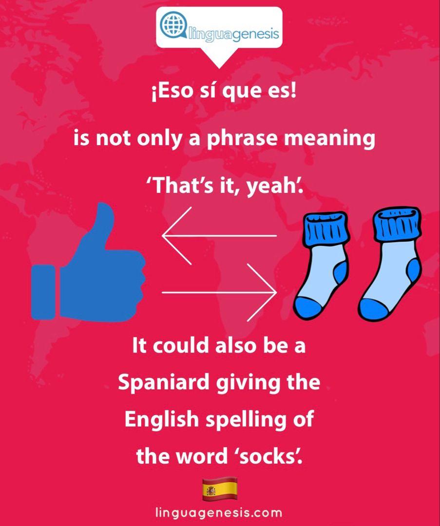 Que es eso meaning in english
