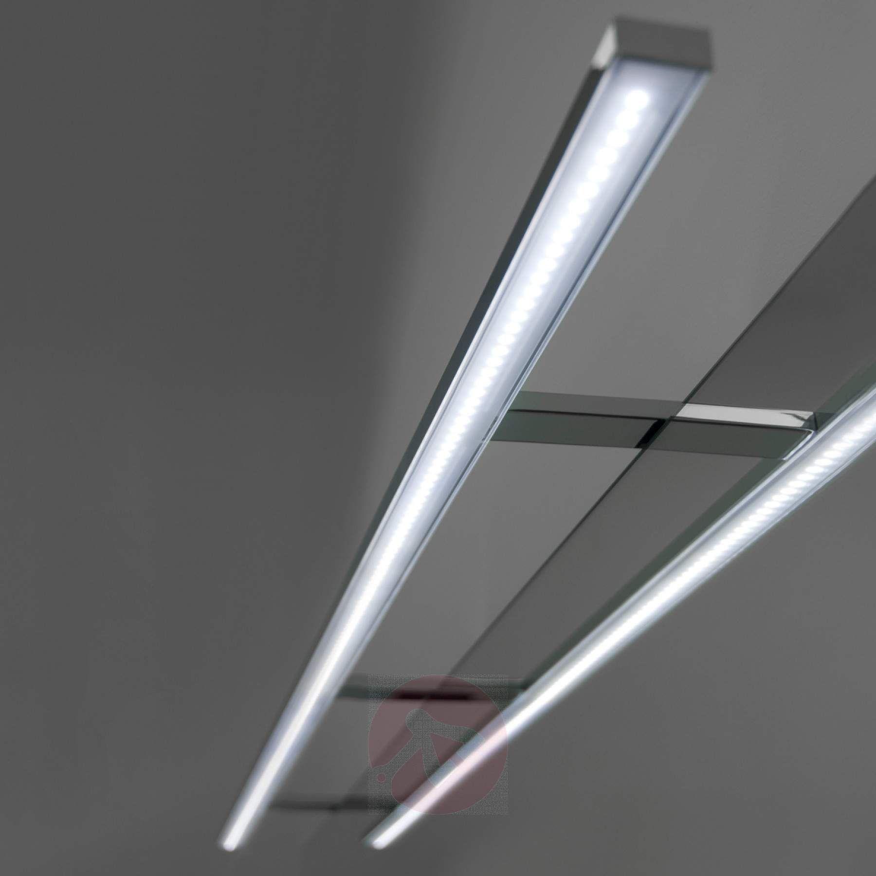 100 Cm Breite Led Spiegellampe Esther Spiegellampe Led Spiegel Lampen