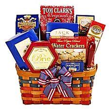 image of Alder Creek Patriot Treats Gift Basket