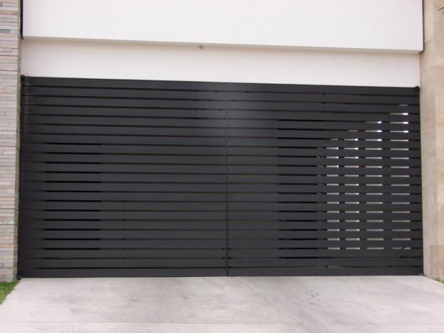 Puertas de herreria herreria pinterest garage doors - Puertas para garage ...