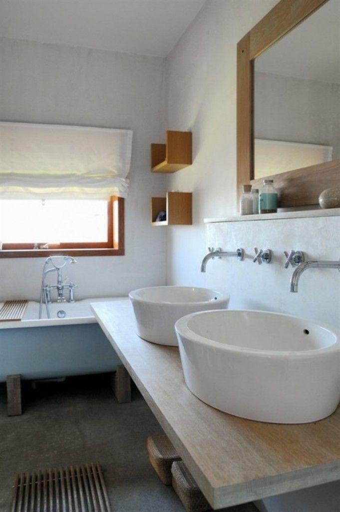 Rustic Scandinavian Bathroom