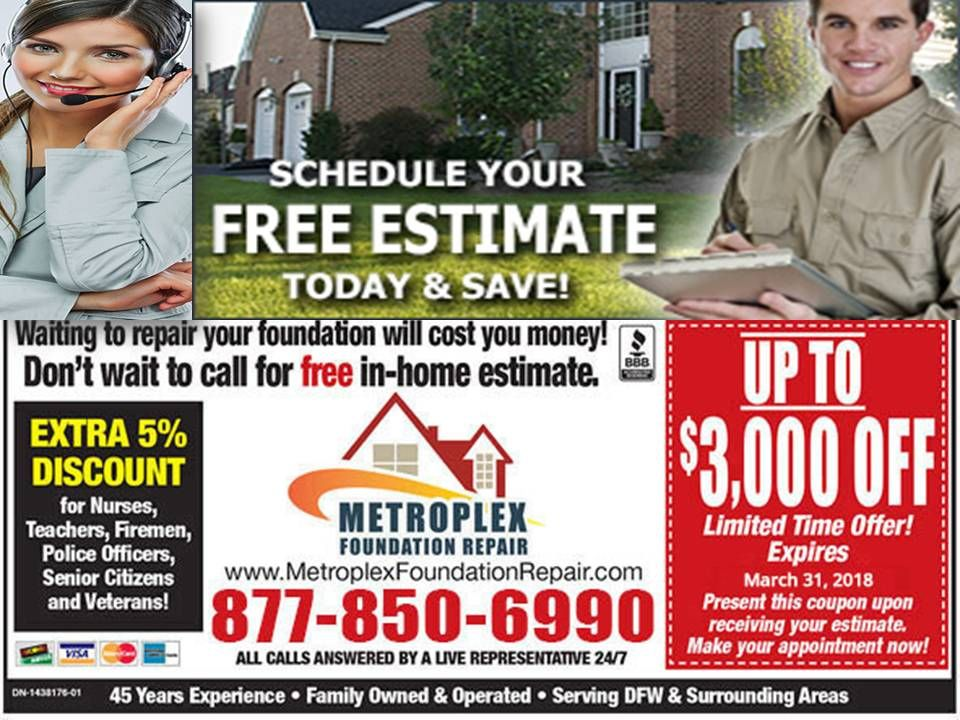 Looking For A Foundation Repair Company Near Me Metroplex Foundation Repair Is A Specialist In Repairing All The Foundatio Foundation Repair Foundation Repair