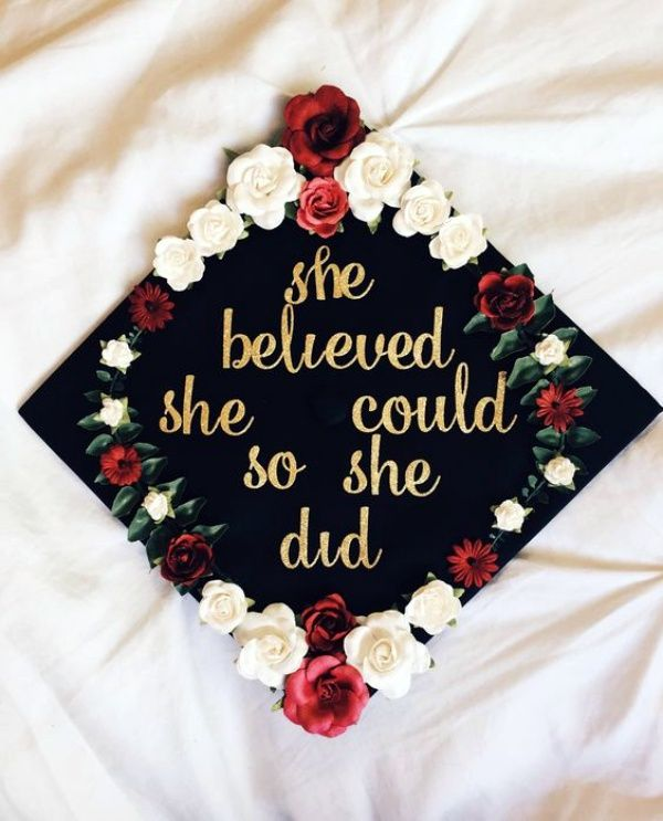 40 Speaking Graduation Cap Decoration Ideas - Bored Art