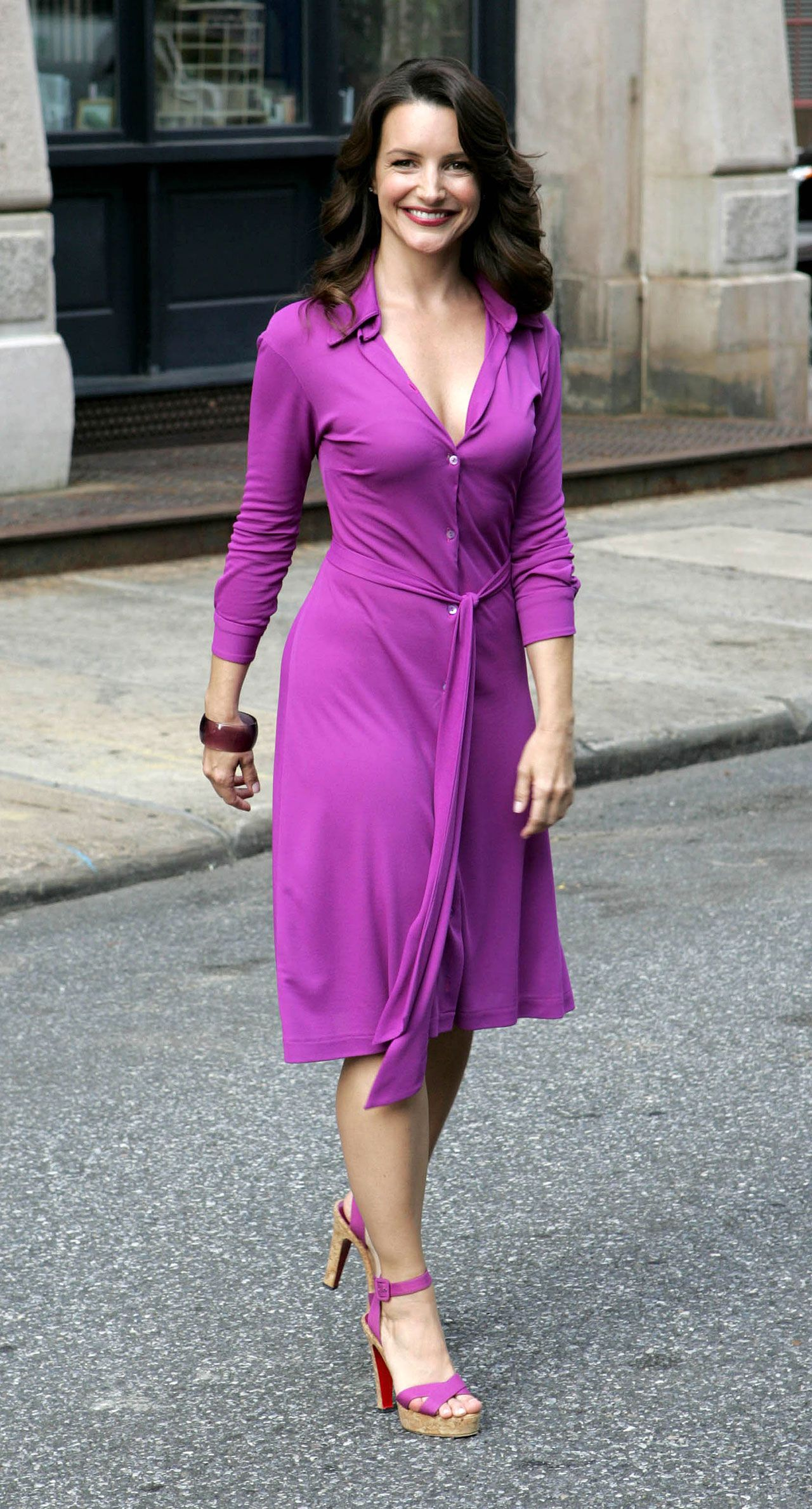 Agree, kristin davis dress