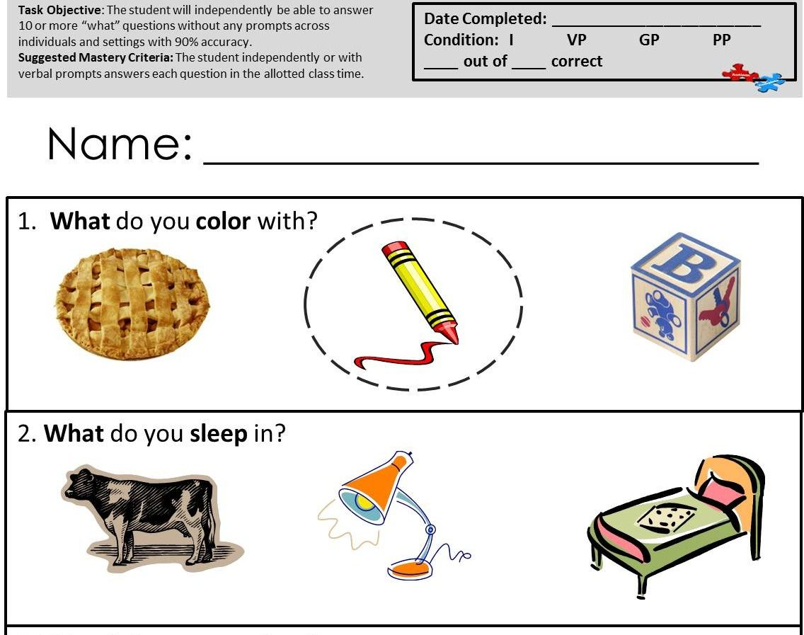 Check Out These Great Worksheets At Tismcomplete