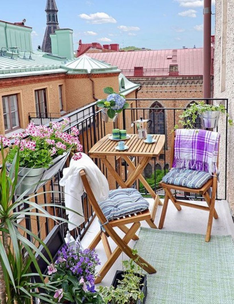 Awesome 119 Beautiful Small Balcony Design and Decor Ideas ...