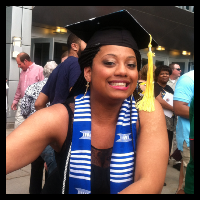 Congratulations to Soror Elizabeth Nicole Lassiter on graduating from Creighton University with a Bachelor of Science in Sociology! Way to go, Soror!