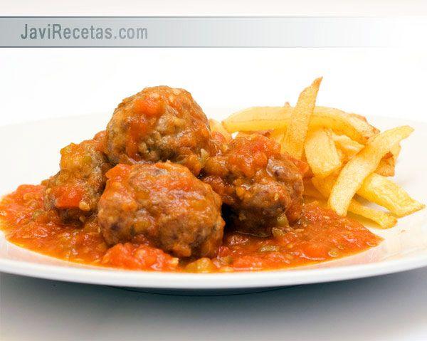 Albóndigas Con Tomate A La Italiana Ya Va Siendo Hora De