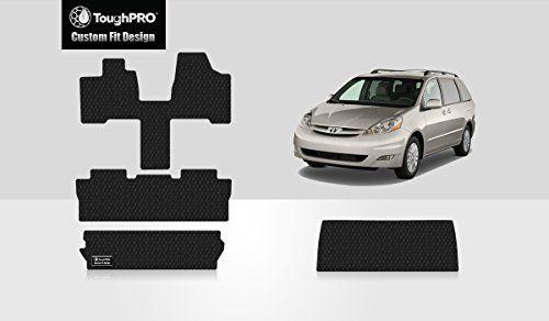Toughpro Toyota Sienna Floor Mats 8 Seats Full Set Storage Mat All