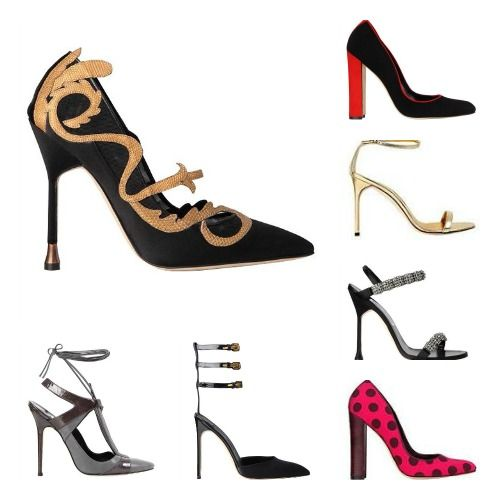Manolo Blahnik Fall Winter 2012 Collection
