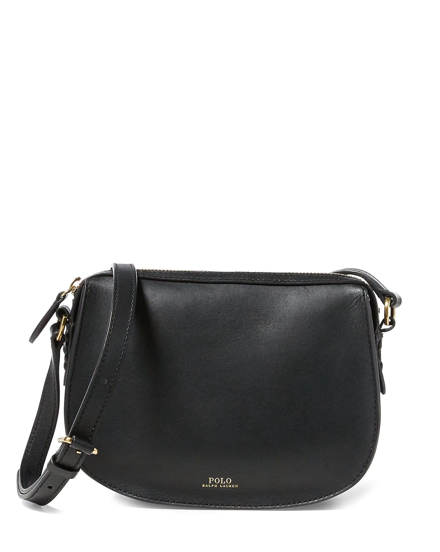 0db13702080d RALPH LAUREN Leather Mini Crossbody Bag.  ralphlauren  bags  shoulder bags   leather  crossbody  cotton