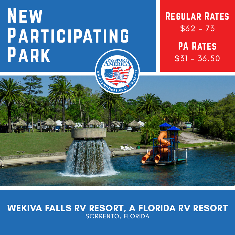 Wekiva Falls Rv Resort In Sorrento Fl Is A Premiere Destination Ideally Located Between Daytona Beach And Orlando This Florida Campgrounds Florida Rv Resort