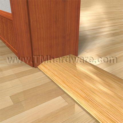 Seam Binding Or Wooden Threshold 5 0 Oak 5 Height In 2020 Doors And Floors Updating House Floor Trim