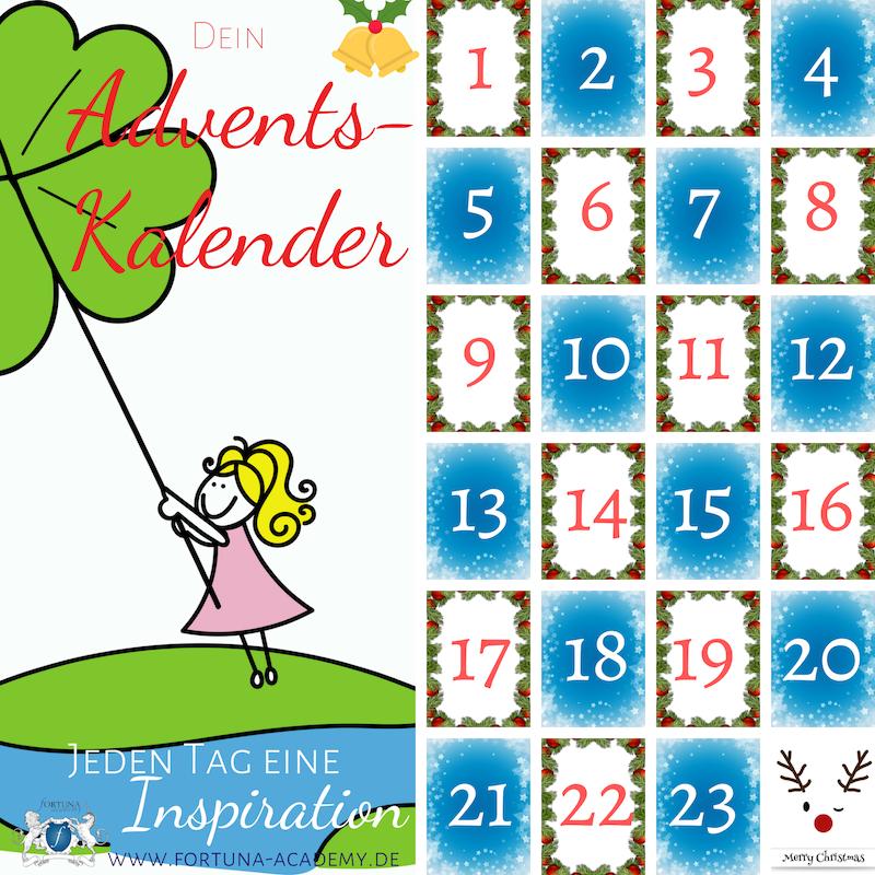 Hole Dir Jetzt Deinen Glucks Adventskalender Und Erhalte Jeden Tag Wundervolle Inspirationen Zum Glucklich Sein Ich Schenke Di Adventkalender Kalender Gluck