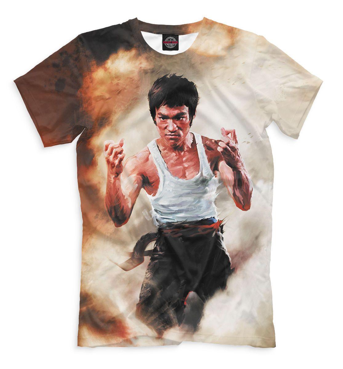 4e0df4a6b Bruce Lee T-Shirt - Legendary Fighter Jun-Fan Tee Sport Karate Kung Fu  Ju-Jitsu