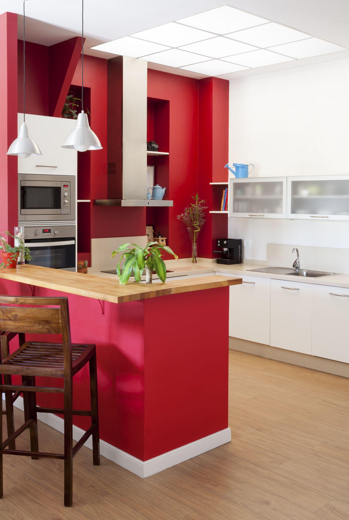 Red Wall Kitchen Cuando Se Trata De Dar Saza3n Haz Que Tu Cocina Tenga Los