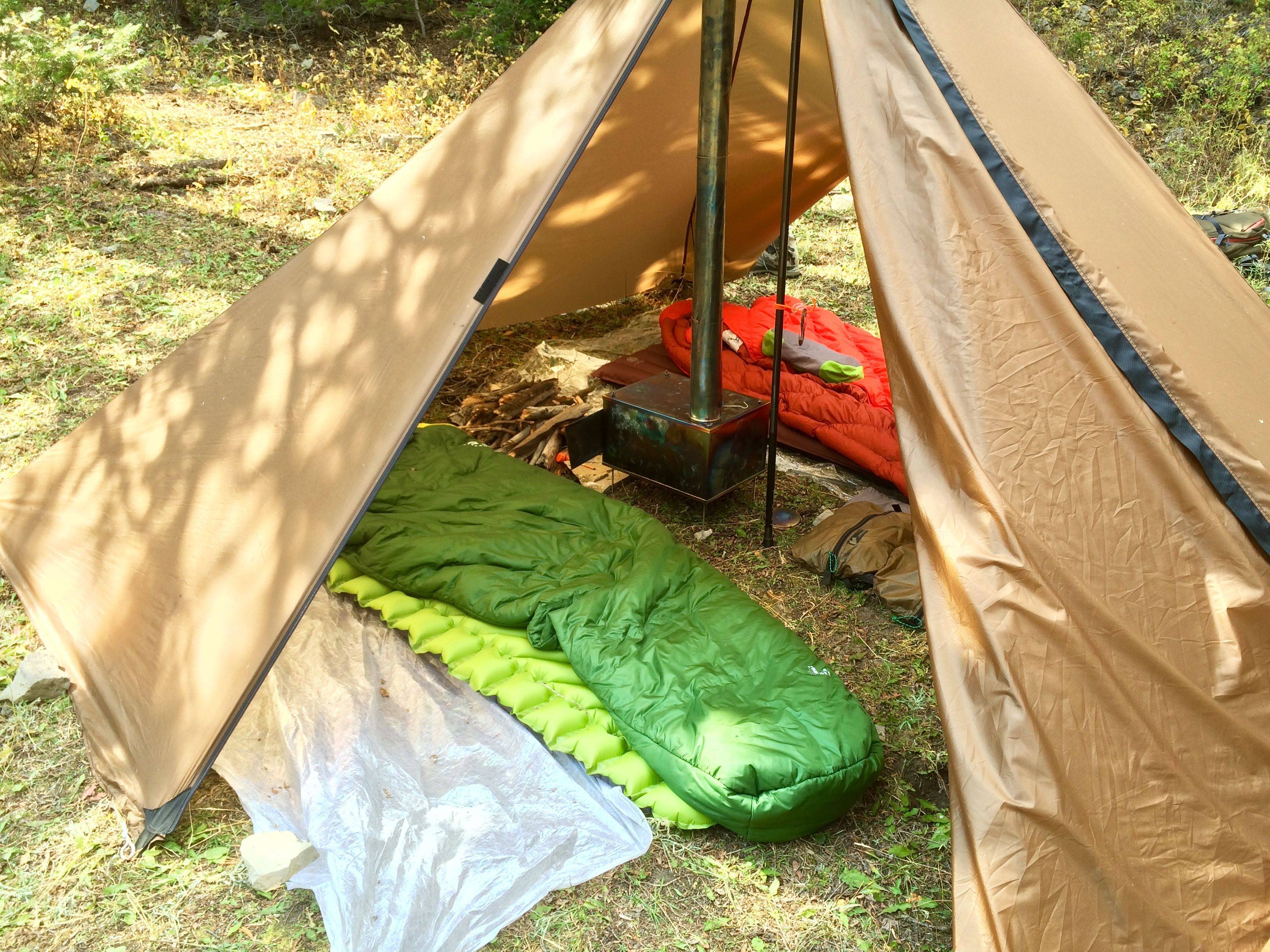 Seek Outside Cimarron with sxl stove  sc 1 st  Pinterest & Seek Outside Cimarron with sxl stove | Ultralight Tipi Tents and ...