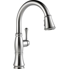 Delta Cassidy Arctic Stainless 1Handle PullDown Sink