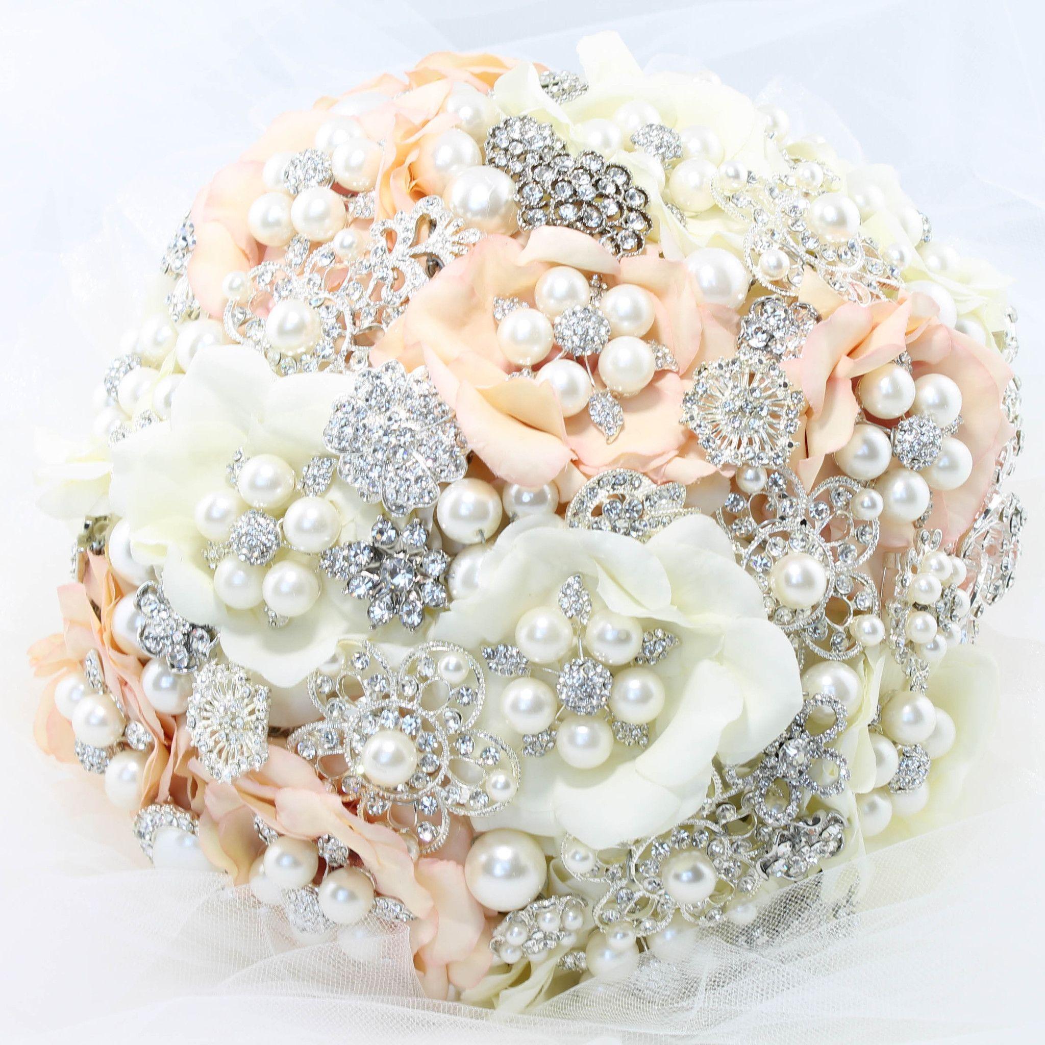 Bridal Brooch Bouquet Nicole Wedding Ideas Pinterest Bridal