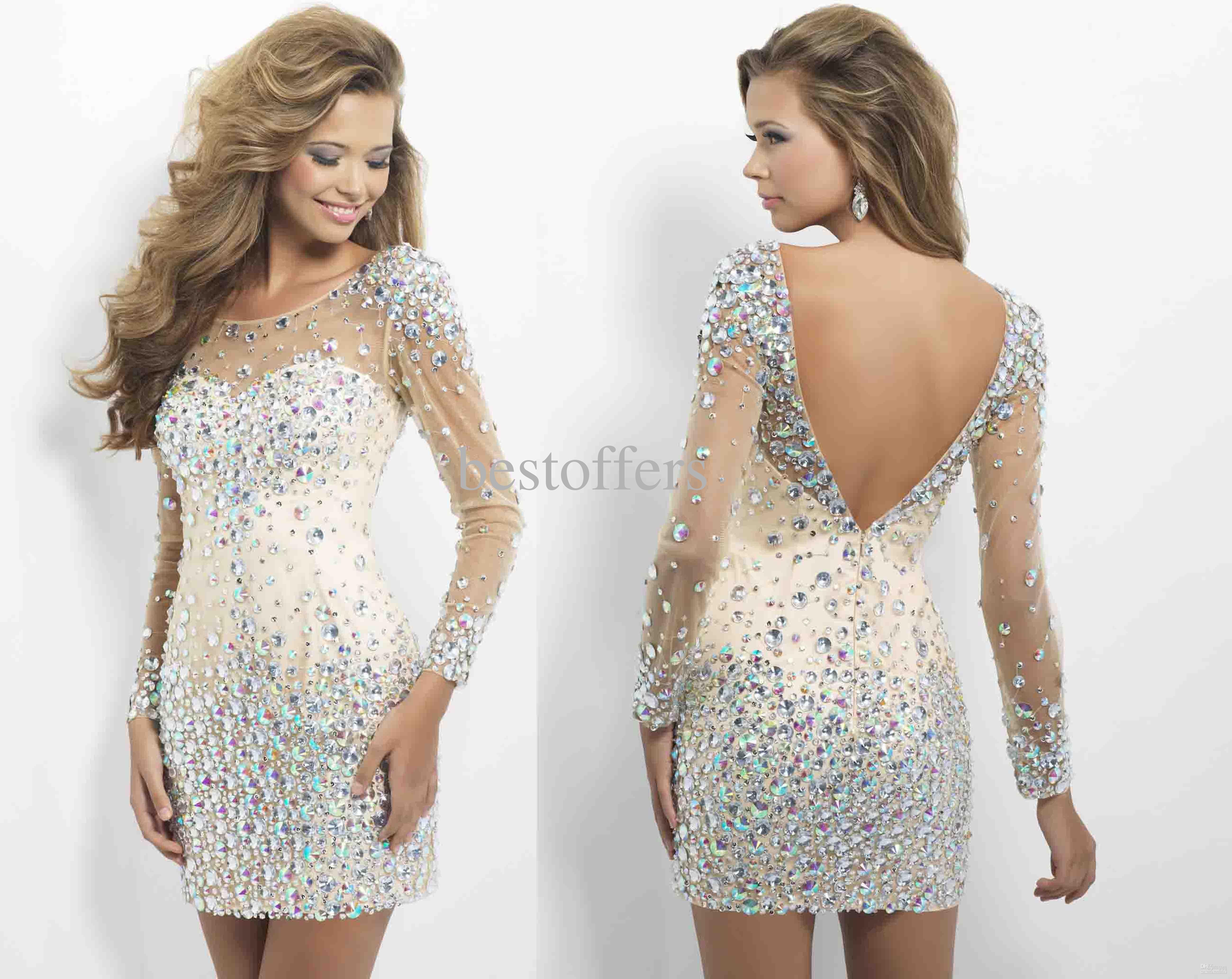 Wholesale custom made lace sheer long sleeve one shoulder sheath