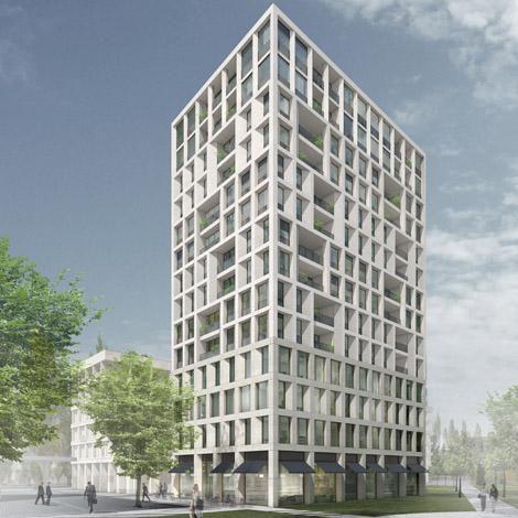 max dudler architekt stadtquartier schwabinger tor. Black Bedroom Furniture Sets. Home Design Ideas