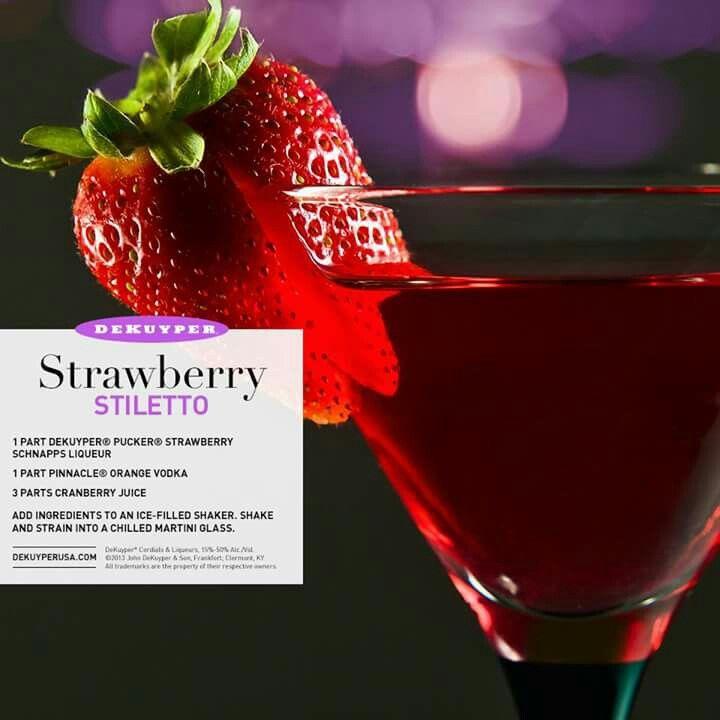 Strawberry Stiletto
