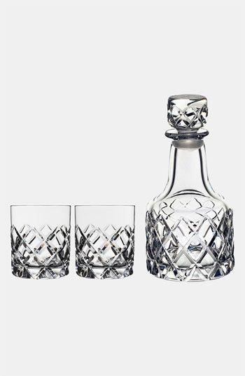 Orrefors 'Sofiero' Whiskey Decanter Set   Nordstrom