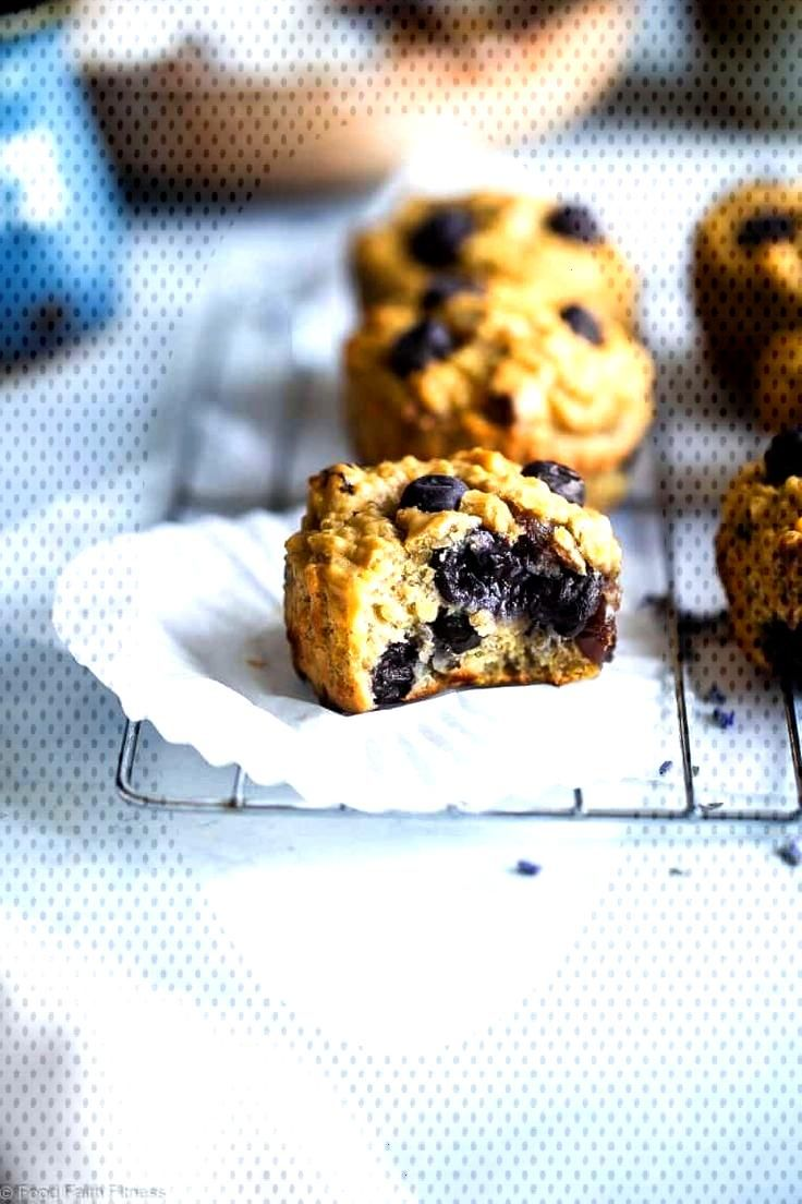 Blueberry High Protein Muffins with Quinoa | Food Faith Fitness Quinoa Blueberry High Protein Muffi