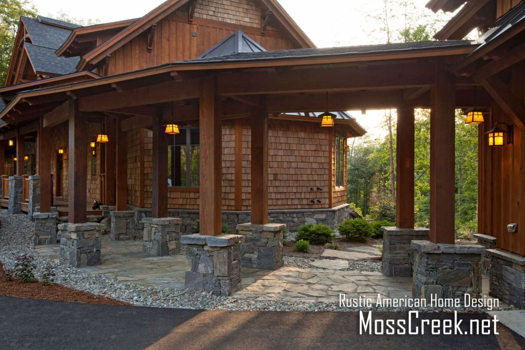 www.MossCreek.net Mountain timber frame home in the heart of New ...
