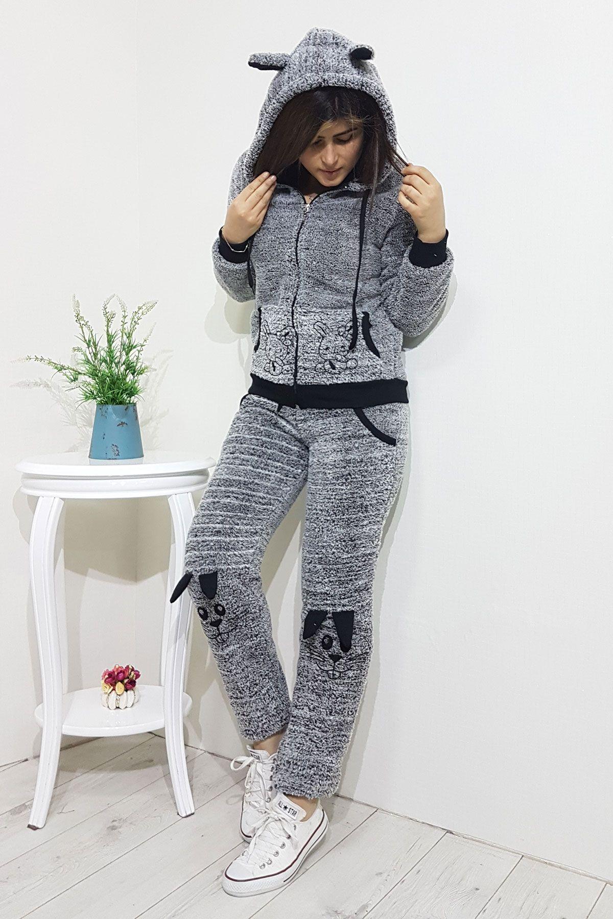 9ec92d21e5f7d TAVŞANLI BAYAN EŞOFMAN TAKIMI   Women sportswear in 2019   Giyim ...