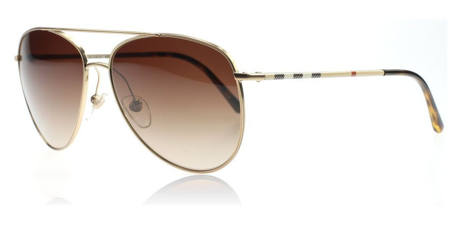 Burberry BE3072 Sonnenbrille Gold 118913 57mm HEcIG9Q0ps