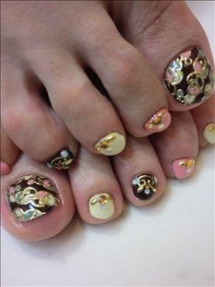 New Season Pedicure Nail Art Ideas For Nail Art Services Call