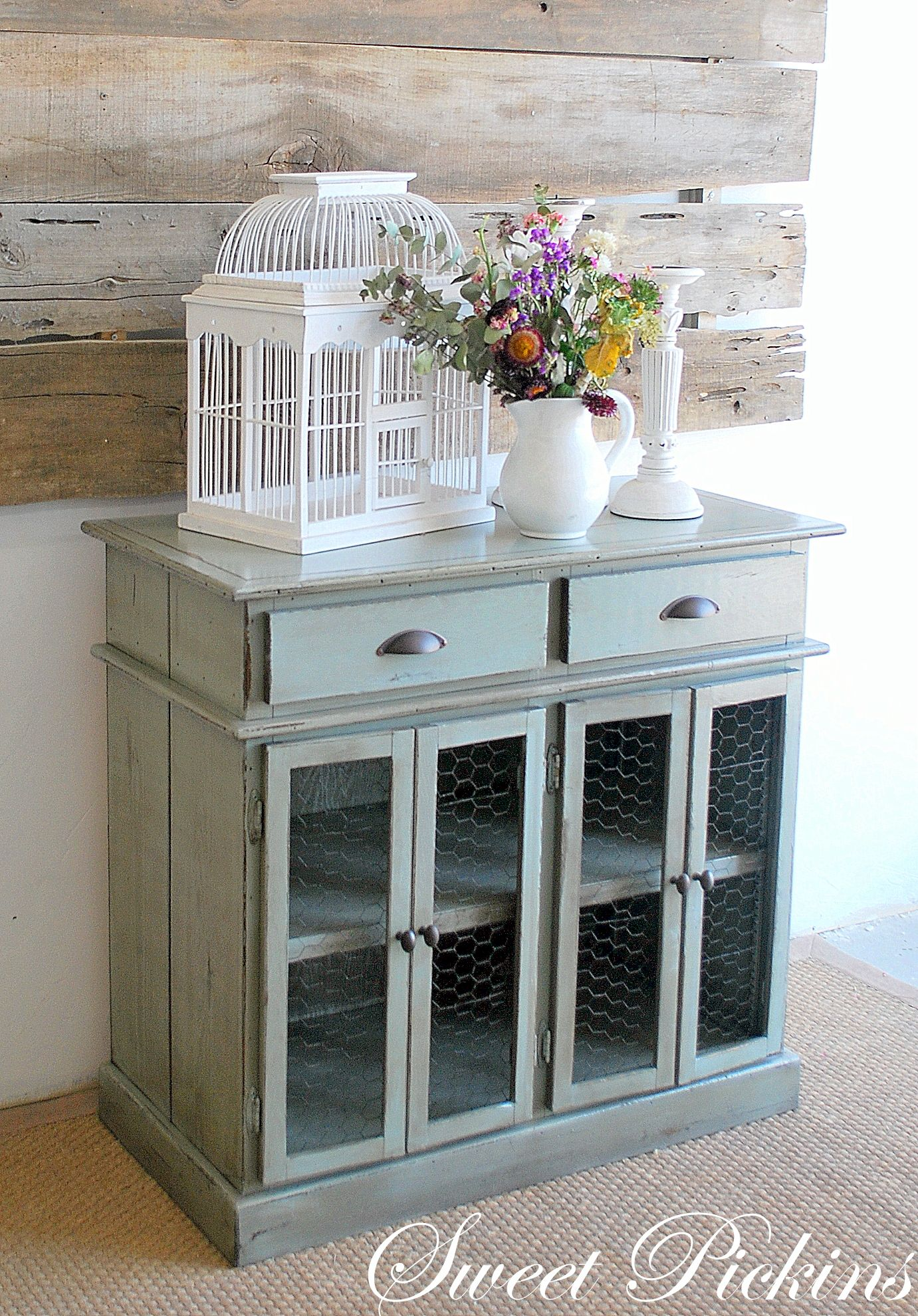 love this cabinet | Decorating | Pinterest | Chicken wire, Doors and ...