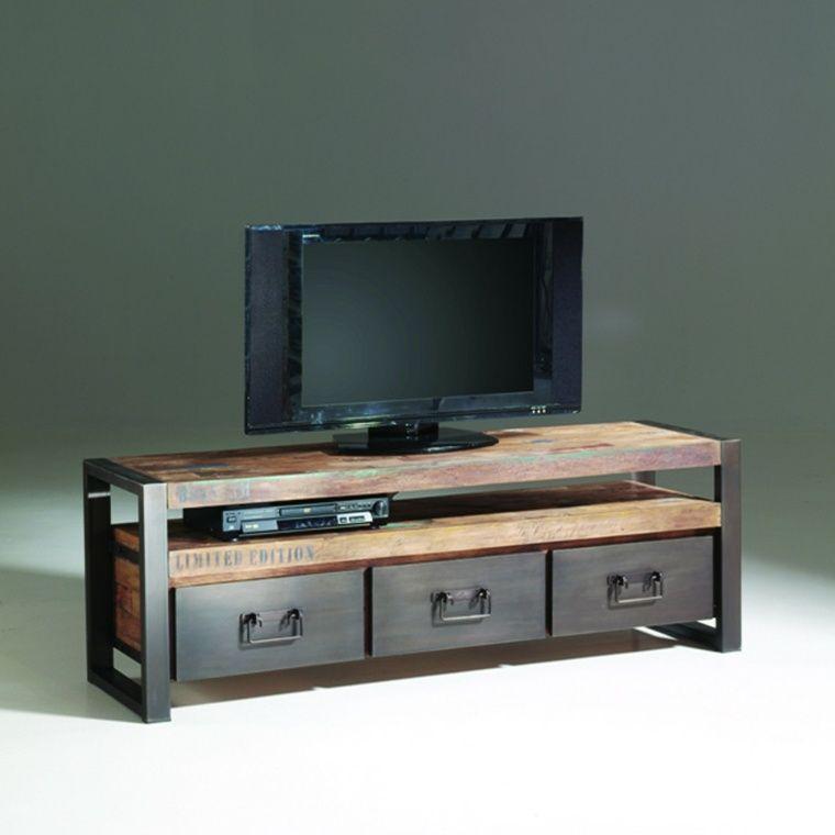 Personnalisez votre salon avec le meuble tv industriel ! Salons