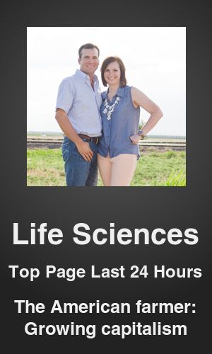 Top Life Sciences link on telezkope.com. With a score of 118. --- Mix of crop and animals in farms helps increase income. --- #lifesciences --- Brought to you by telezkope.com - socially ranked goodness