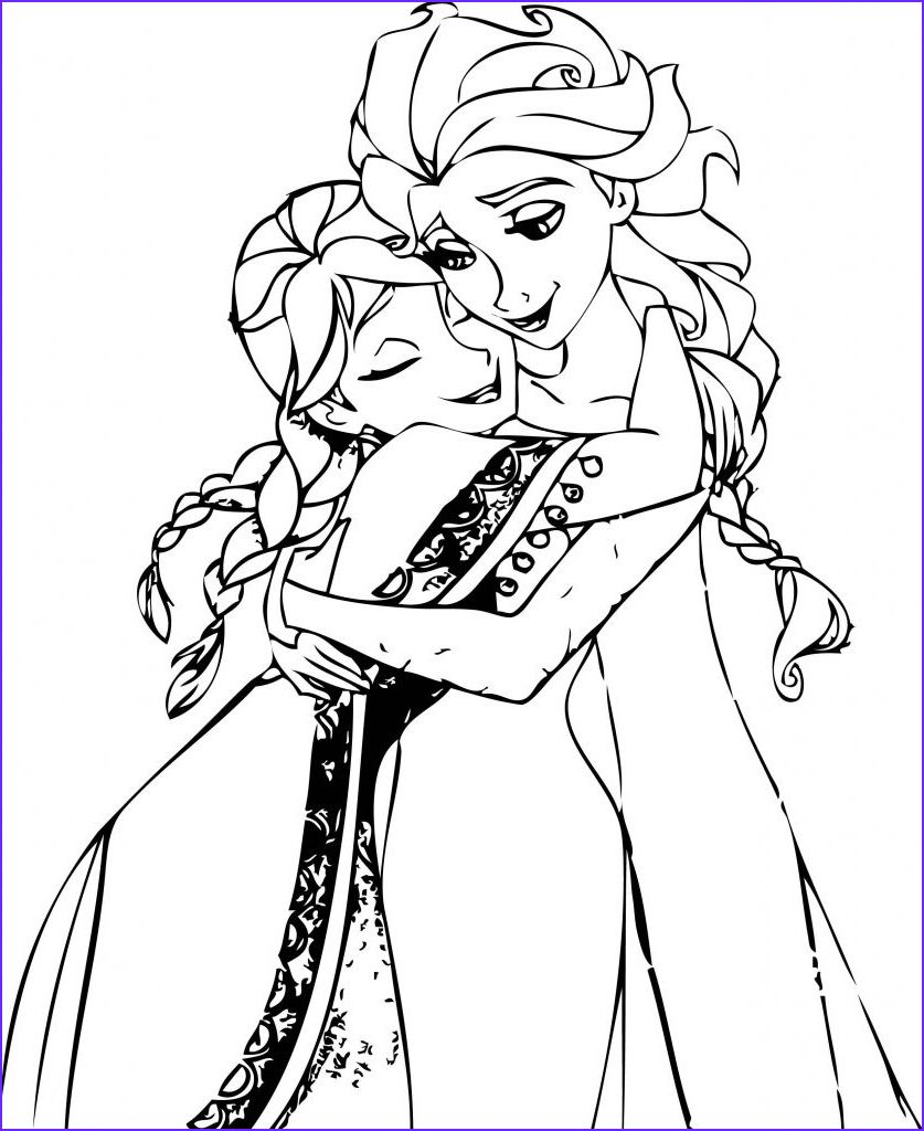Frozen Anna Coloring Pages Avaboard in 2020 | Elsa ...