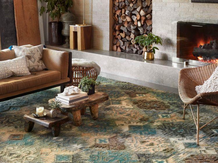 Teppich Im Wohnzimmer Tipps Wie Sie Die Passende Teppichgrosse