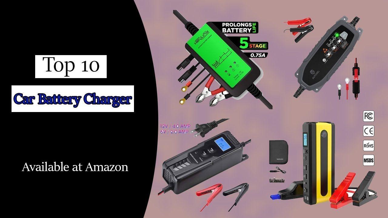Top 10 Best Car Battery Charger Reviews Car battery, Car