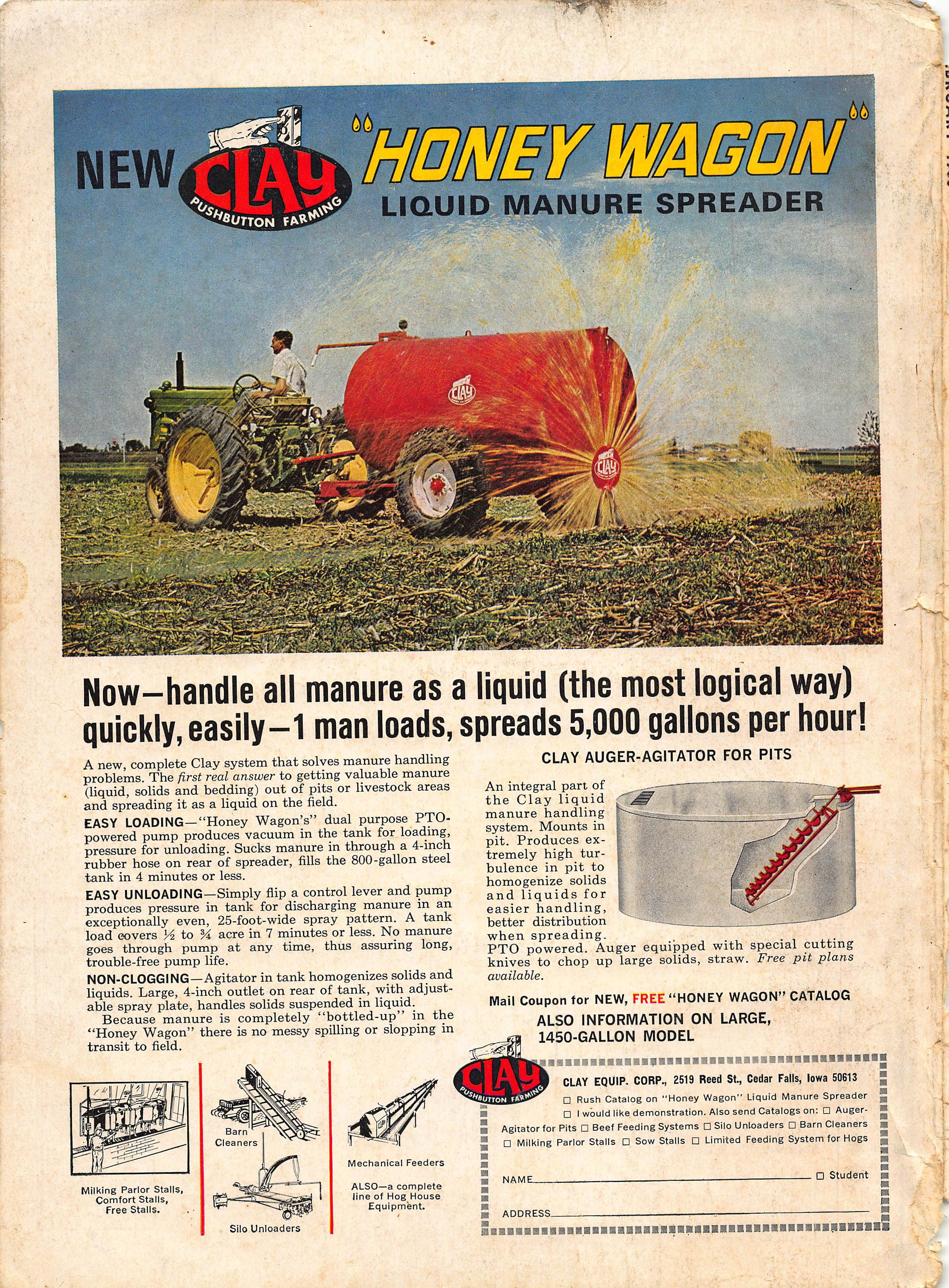 clay feeder pin ad tarter pinterest feeders honey wagon attachments tractor