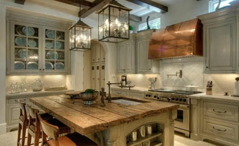 15 Reclaimed Wood Kitchen Island Ideas Rilane Heart Of The Home