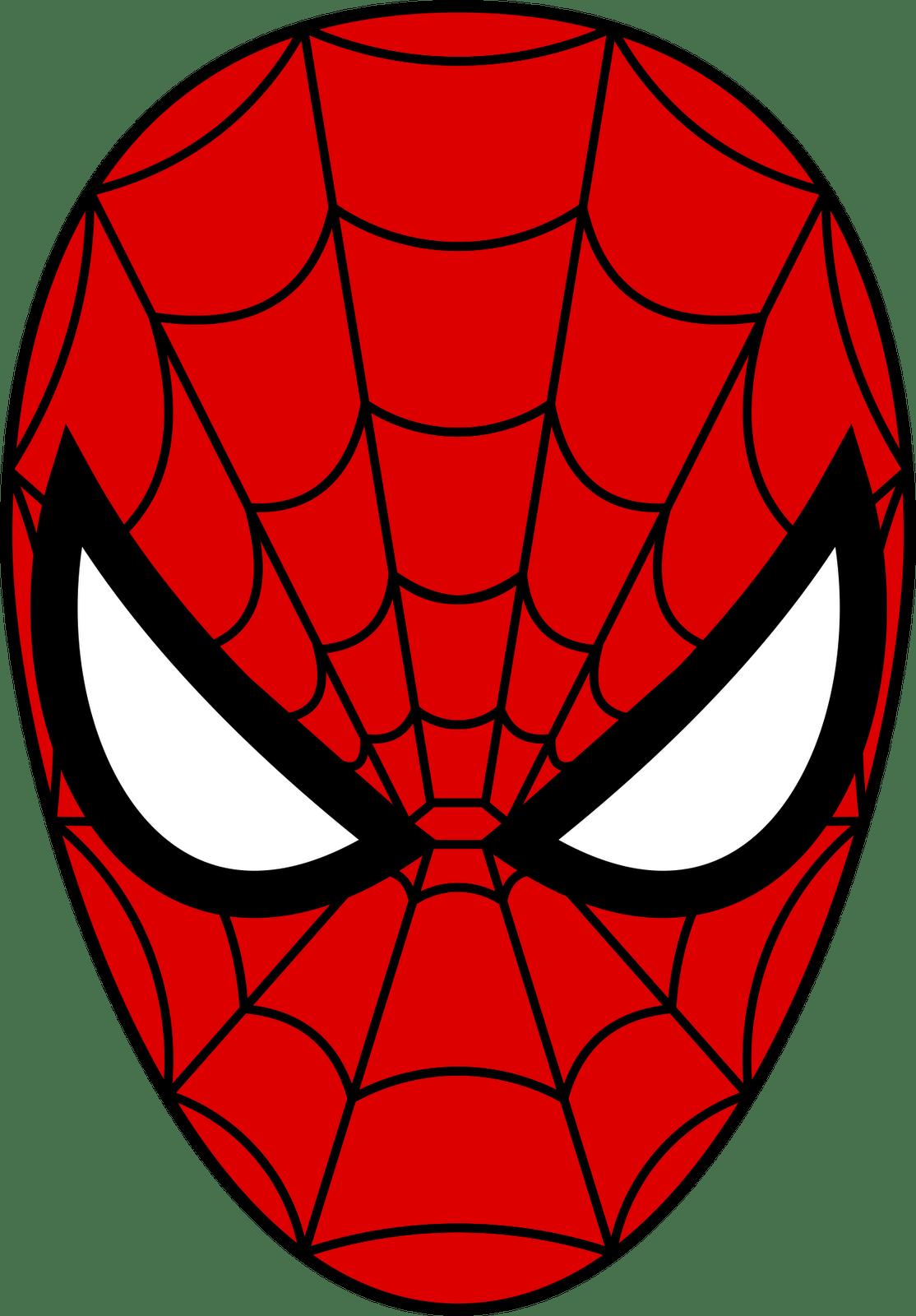 Spider Man Mask PNG Image