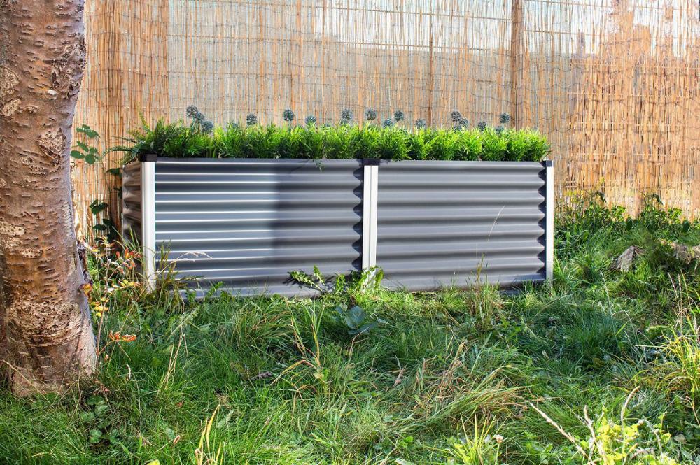 Hochbeet Linus Granit Metall Gartenbeet Anbauvongemuse Dieses Moderne Hochbeet Von Vitavia Eignet Sich Perfekt Zum Ruckenfreundlichen Anbau Von Frischen Kra