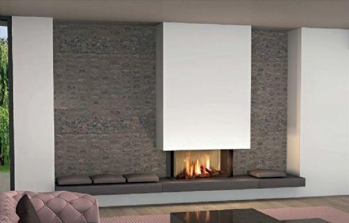 I camini design moderni della collezione panoramic idee for Accessori per la casa moderni